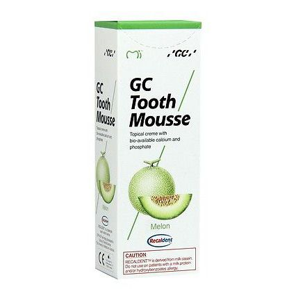 GC Tooth Mousse with Recaldent Melon Flavour 40g