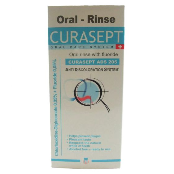 Curasept ADS 205 0.05 % Oral Rinse With Flouride 200ml