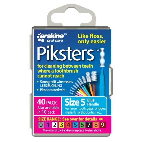 Piksters Tooth Cleaner Size 5 40 Pack