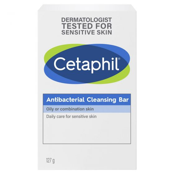 Cetaphil Antibacterial Cleansing Bar 127g