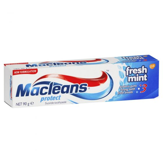 Macleans Protect Fresh Mint Toothpaste 90g