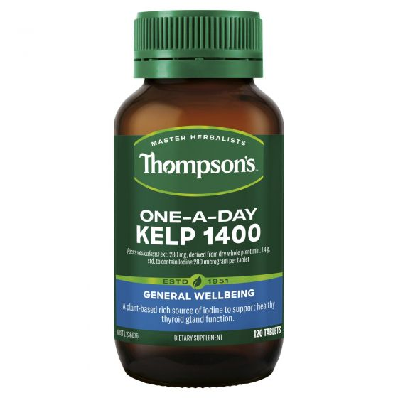 Thompson's One-a-day Kelp 1400mg 120 tabs