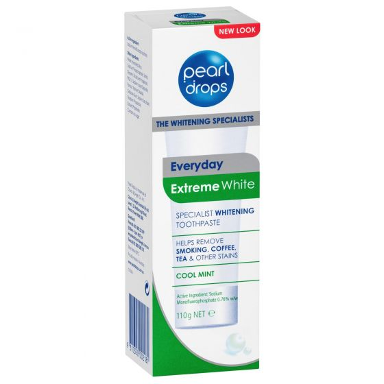 Pearl Drops Extreme White Whitening Toothpaste 110g