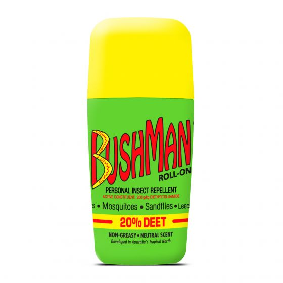 Bushman 20% Deet Roll-On Insect Repellent 60g