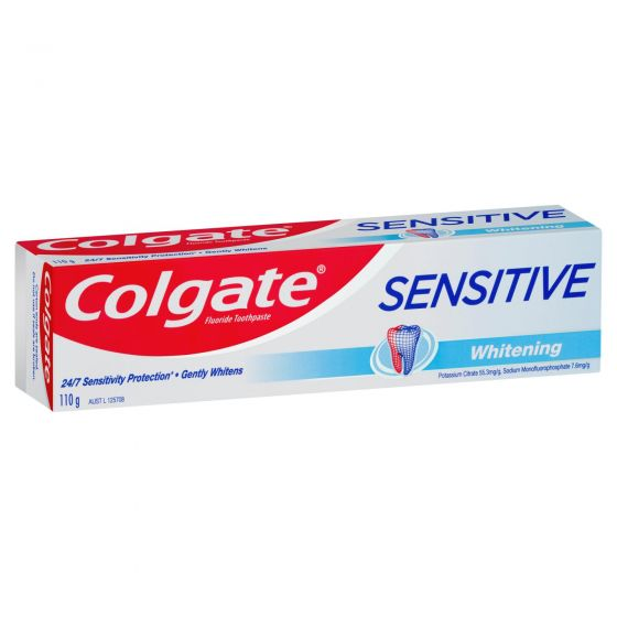 Colgate Sensitive Teeth Pain Whitening Toothpaste 110g