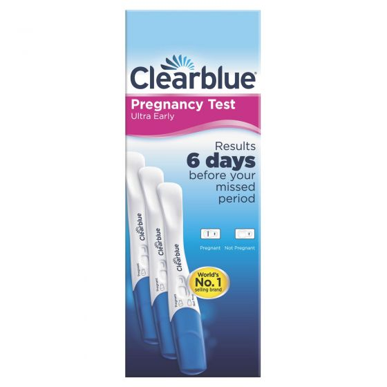 Clearblue Early Detection Pregnancy Test, Kit Of 3 Test