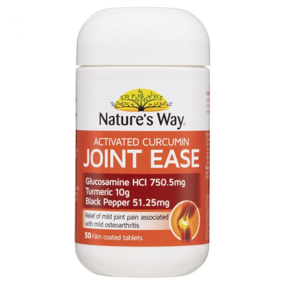 Nature's way ACTIVATED CURCUMIN TURMERIC CONCENTRATE  JOINT EASE 50s