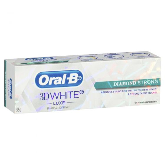 Oral-B 3D White Luxe Diamond Strong Toothpaste 95g