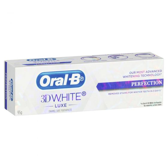 Oral-B 3D White Luxe Perfection Toothpaste 95g