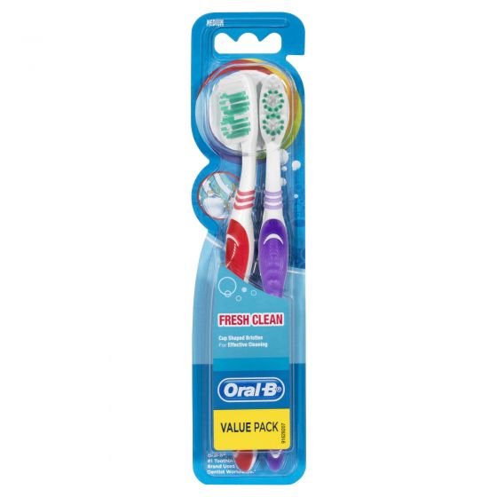 Oral B Fresh Clean Soft Toothbrush Value Pack