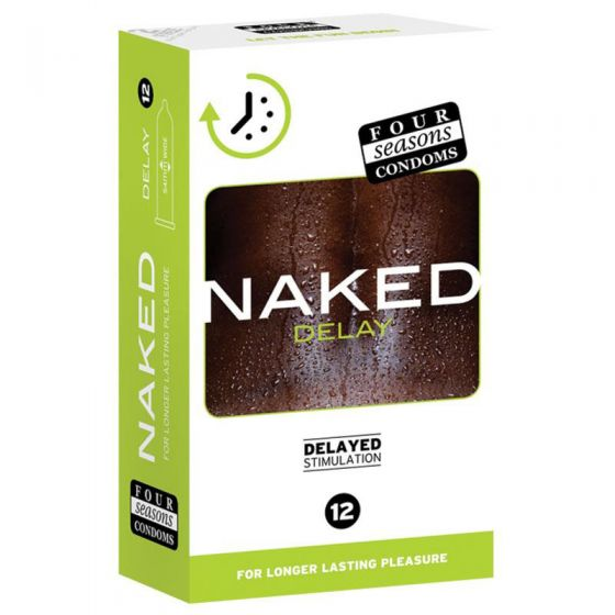 Four Seasons Naked Delay Condoms 12 Pack