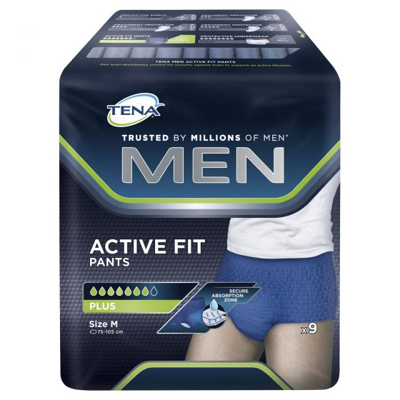 Tena Men Active Fit Plus Pants Medium 9