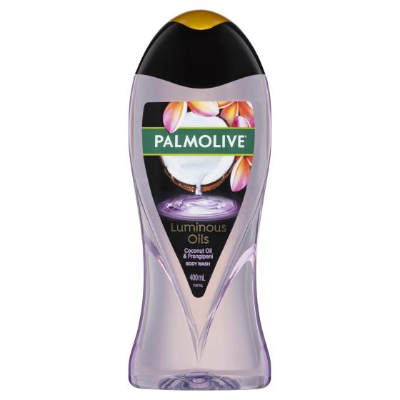 Palmolive Luminous Oils Enriching Body Wash Coconut Oil with Frangipani Recyclable 400mL