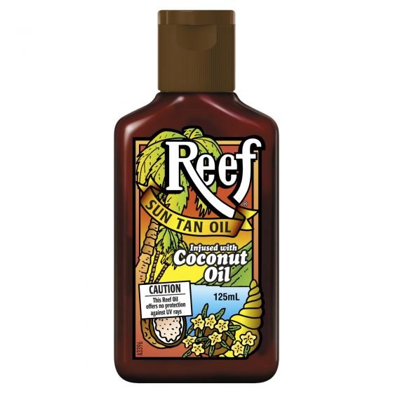 Reef Dark Sun Tan Oil Coconut 125ml