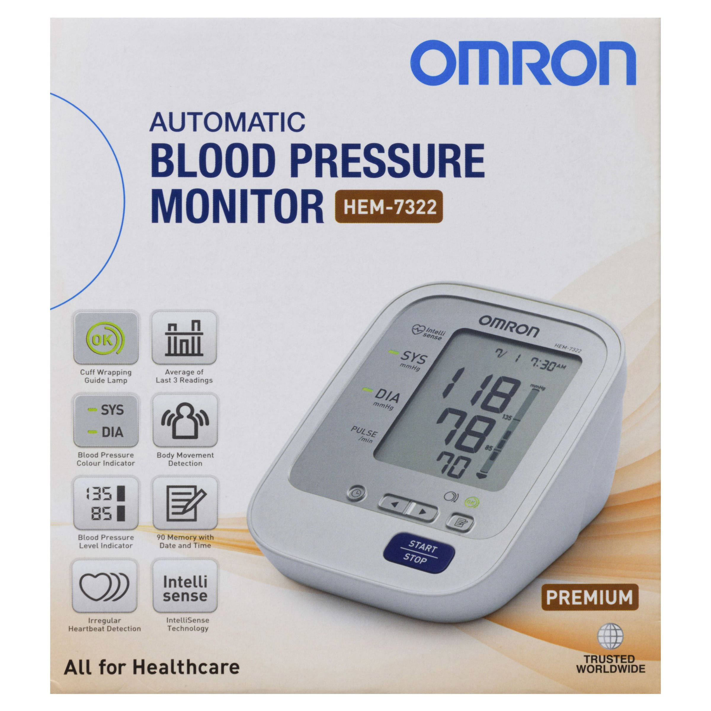 Omron HEM-7322 Automatic Blood Pressure Monitor - Your