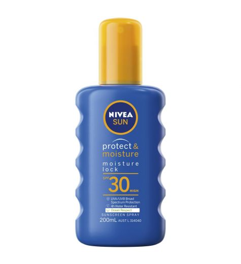 Nivea SPF 30+ Sunspray 200ml