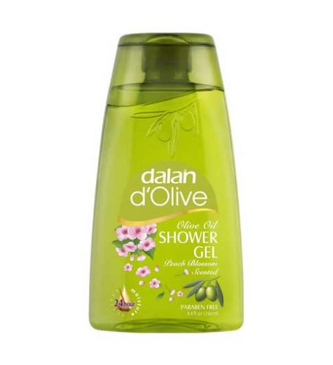 Dalan D'Olive Olive Oil Shower Gel Peach Blossom Scented 250ml