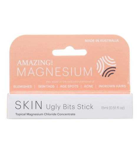 Amazing Magnesium Skin Ugly Bits Stick Roll On 15ml