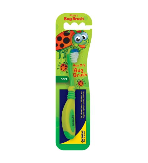 Piksters Childrens Soft Bug Brush