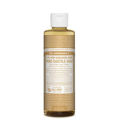 Dr. Bronner's Pure-Castile Liquid Soap Sandalwood Jasmine 237ml