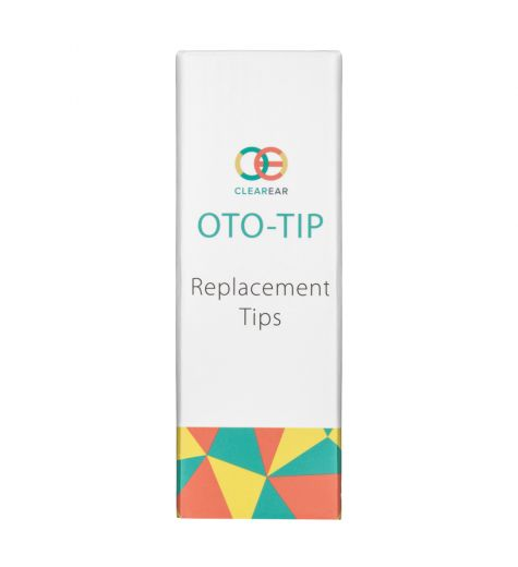 Clear Ear Oto-Tip Replacement Tips