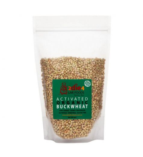 2Die4 Live Foods Activated Organic Buckwheat 300g