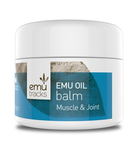 Emu Tracks Emu Oil Muscle & Joint Balm 50g