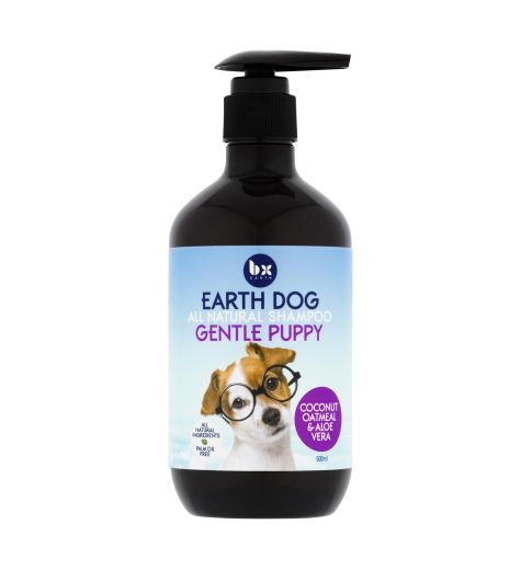 BX Earth All Natural Gentle Puppy Shampoo 500ml
