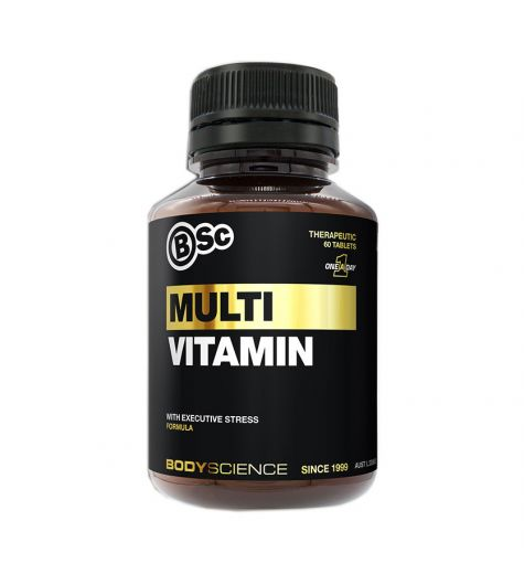 BSC Body Science Multi Vitamin Tablets 60