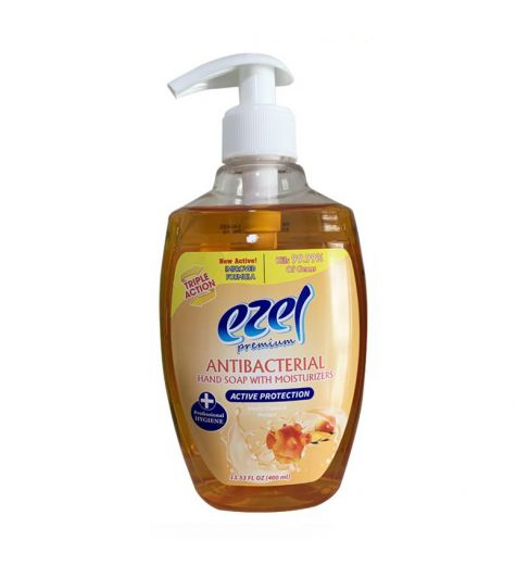 Ezel Premium Antibacterial Active Protection Hand Soap 400ml
