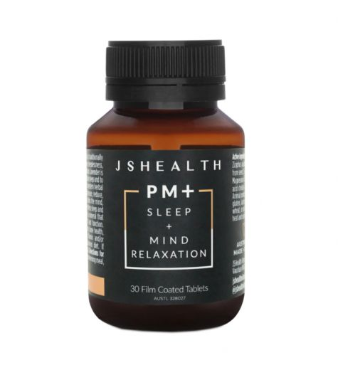JS Health PM + Sleep + Mind Relaxation Tablets 30