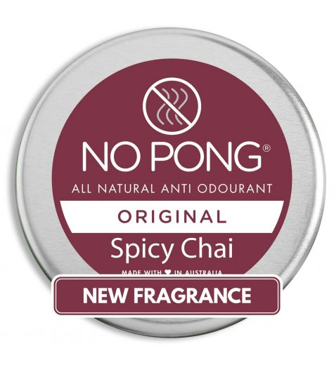 No Pong Original Spicy Chai Deodorant 35g