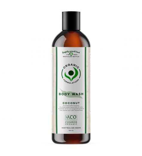 Organic Formulations Coconut Body Wash 500ml