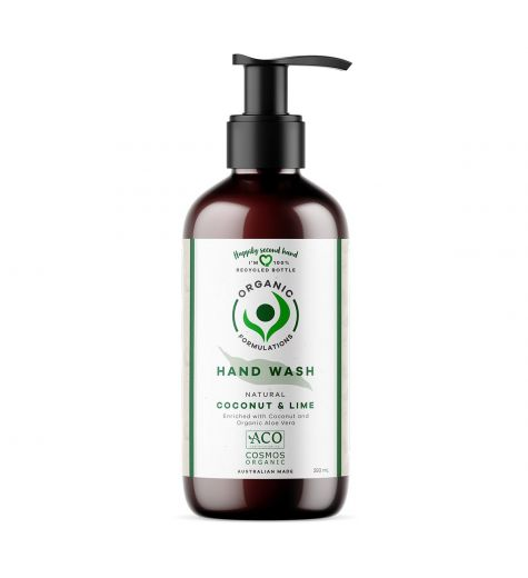 Organic Formulations Natural Coconut & Lime Hand Wash 250ml
