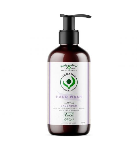 Organic Formulations Natural Lavender Hand Wash 250ml