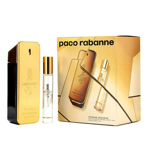 One Million 100ml EDT + 20ml EDT Set By Paco Rabanne (Mens)