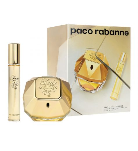 Lady Million Set 80ml EDP + 20ml EDP By Paco Rabanne (Womens)