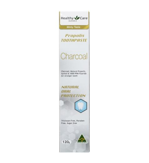 Healthy Care Charcoal Propolis Toothpaste 120g