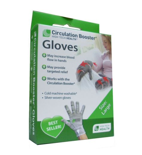 Circulation Booster Gloves 2 Pack - Large