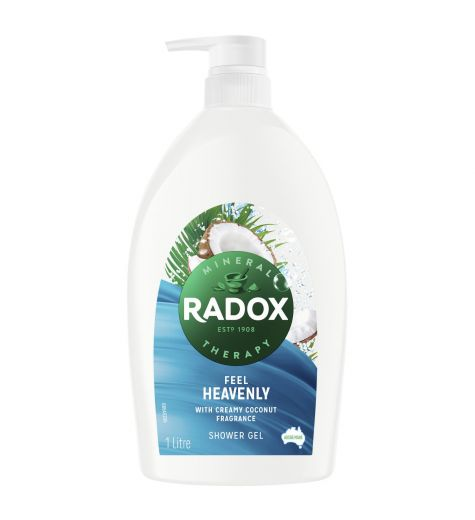 Radox Feel Heavenly With Coconut Extract Shower Gel 1 Litre