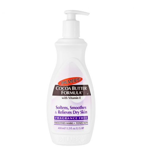Palmers Cocoa Butter Fragrance Free Body Lotion 400ml