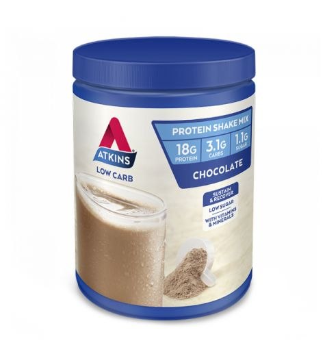 Atkins Low Carb Chocolate Protein Shake Mix 330g