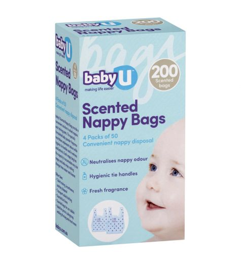 BabyU Nappy Sacks 200