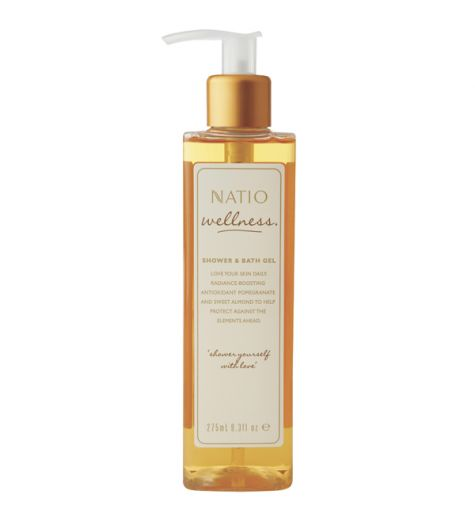 Natio Wellness Shower & Bath Gel 275ml
