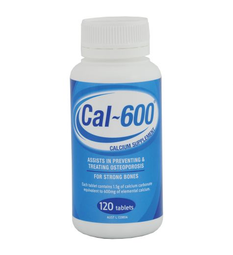 Cal-600 120 Tablets