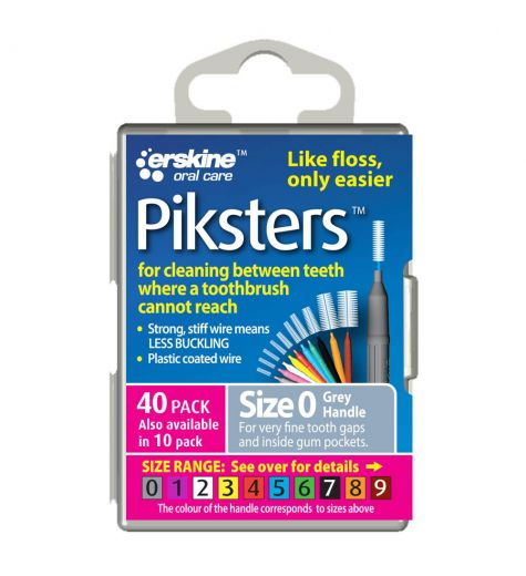 Piksters Tooth Cleaner Size 0 40 Pack