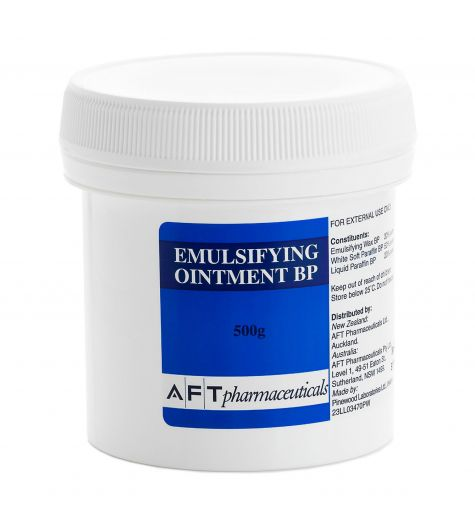 AFT Pharmaceuticals Emulsifying Ointment BP 500g