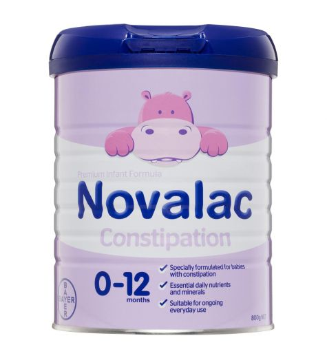 Novalac Constipation Nutritionally Complete From Birth To 12 Months 800g