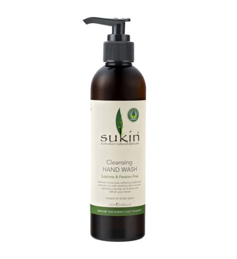 Sukin Cleansing Hand Wash (Pump) 250ml