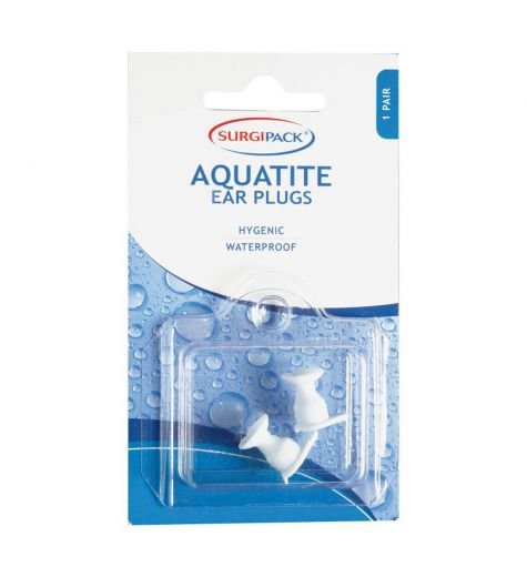 SurgiPack Aquatite Ear Plugs